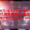 歌のゴールデンヒット2019男性歌手<歌王>CD総売上ランキングベスト100の結果について
