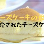 【マツコの知らない世界】チーズケーキの世界で紹介された厳選5選について